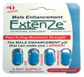how extenze looks like